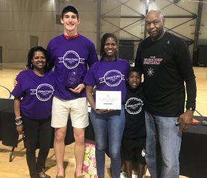 Caleb Crumly - 2019 Joshua Stukes Mental Attitude Winner