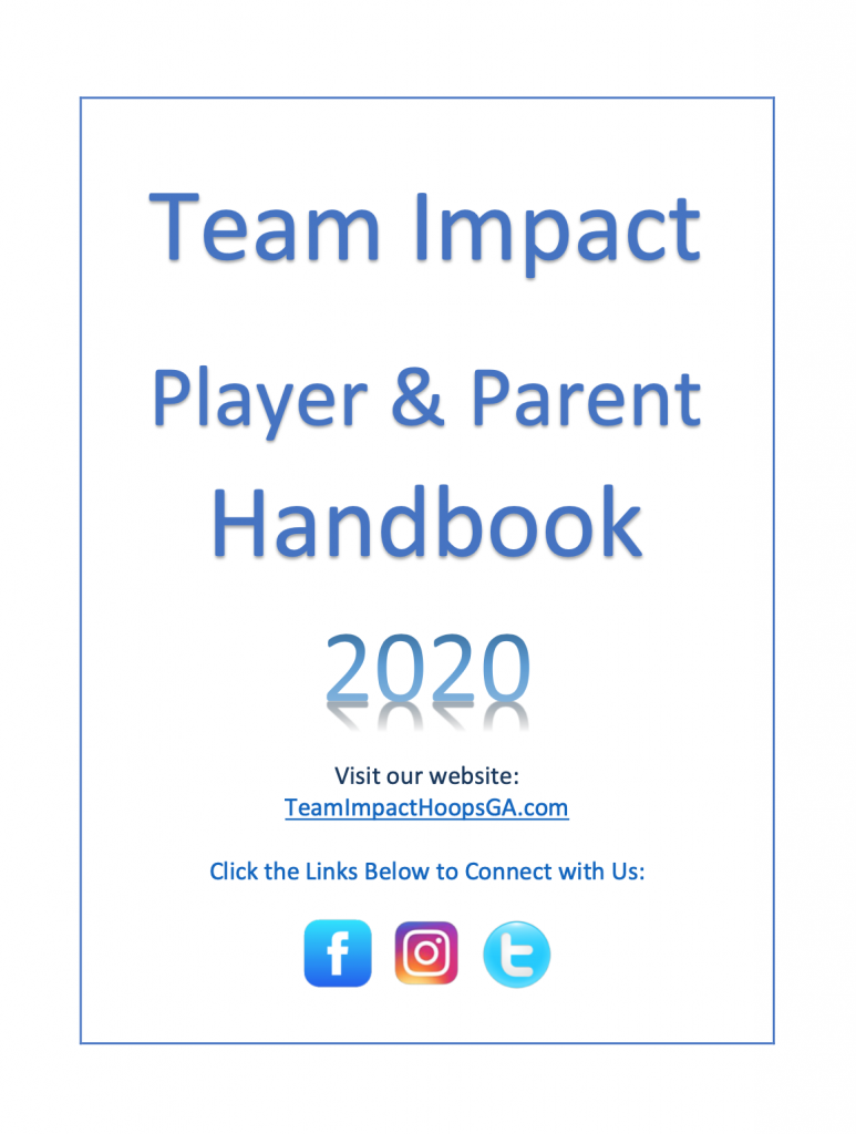 2020 Player/Parent Handbook Image